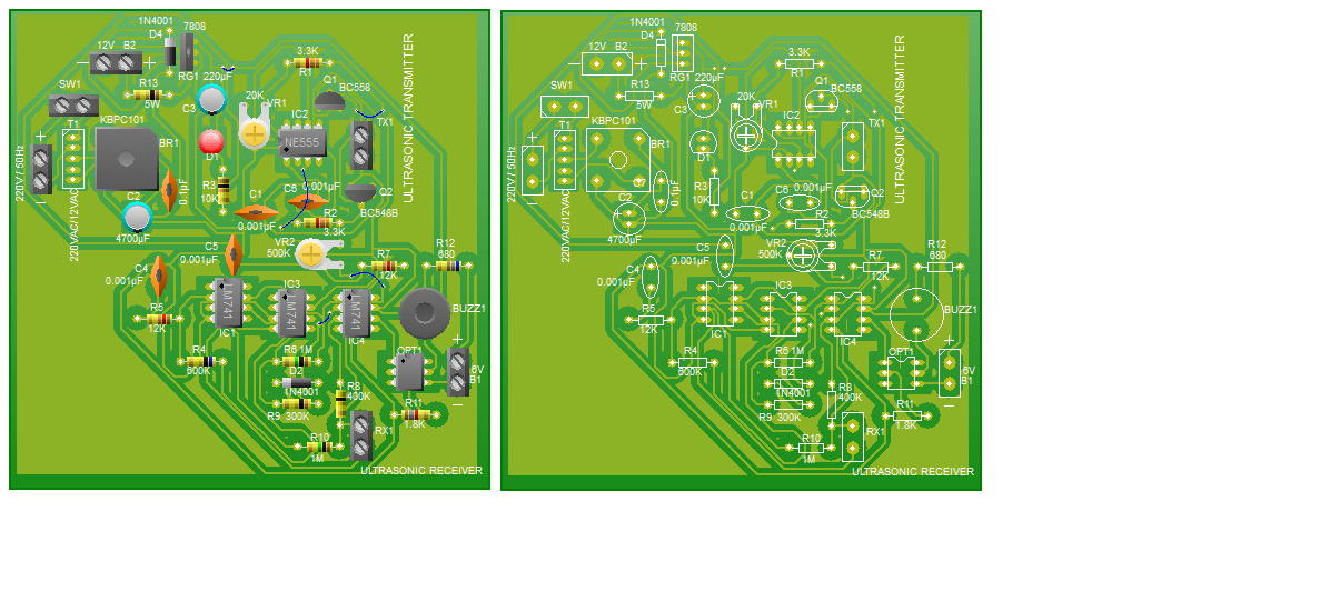 POWER SUPPLY AND FINAL PCB
